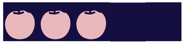 note-trois-pommes - Justine aux pommes