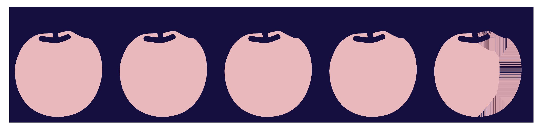 note-cinq-et-demi-pommes - Justine aux pommes